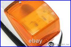10 pc Amber Chrome 31 LED Cab Marker Lights fits Peterbilt Kenworth Freightliner