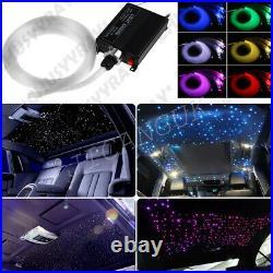 12V Car Headliner Star Light kit Roof Ceiling Lights Fiber Optic Star Ceiling