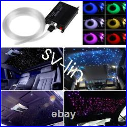 12V DIY Audio Fiber Optic Star Light kit For Car Headliner Roof Ceiling Lights