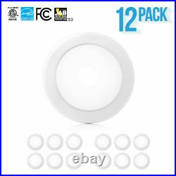 12-24 x PARMIDA 5/6 15W LED Disk Light Ultra Thin Dimmable Flush Mount Ceiling