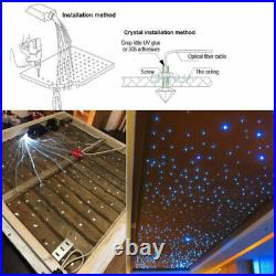 16W RGB LED Fiber Optic Star Ceiling kit light 300pcs 2m 0.75mm + Remote Control