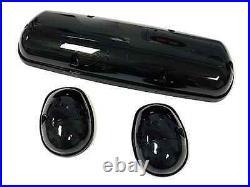 2002-2006 Chevy Silverado Led Smoke Cab Roof Running Lights Dually Truck 3 Set