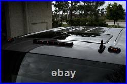 2007-2015 Chevy Silverado Led Smoke Cab Roof Running Lights Dually Truck 3 Set