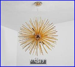 22 Sputnik Chandelier Light Fixture Modern 12 LED Ceiling Light Pendant Lamp
