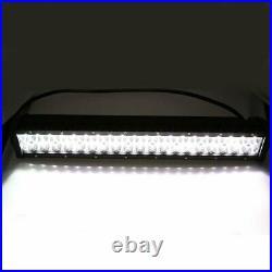 22inch LED Work Light Bar with RGB Angel Eyes Halo Ring Change Chasing Bluetooth