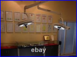 360 Rotation 36W Ceiling LED Surgical Medical Exam Light Shadowless Lamp 800mm