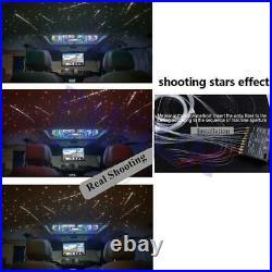 370Pcs Car Headliner Roof Star Ceiling LED Fiber Optic Light with Shooting Meteor