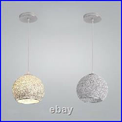 3X Kitchen Pendant Light Bar Lamp Modern Ceiling Lights Silver Pendant Lighting