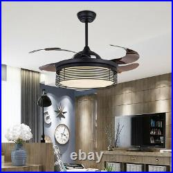 42 Ceiling Fan with LED Light and Remote Control Color Temperature Adjustable