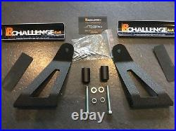 42 LED Light Bar mounting Brackets to fit Mitsubishi L200 K74 Curved bars only