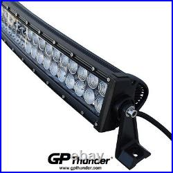 42inch Curved Off Road 240W CREE LED Lamp Work Light Bar SUV For 4WD