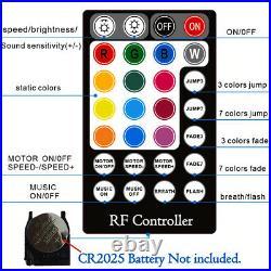 450x RGBW LED Car Home Fiber Optic Twinkle Star Roof Headliner Ceiling Light Kit
