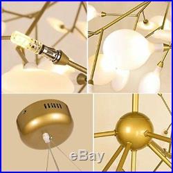 45 Lights Sputnik Firefly Chandelier LED Pendant Lighting Ceiling Light Fixture