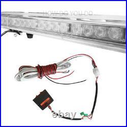 4788LED Strobe Light Bar Emergency Warning Tow Truck Response Amber White Green