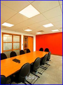 48w Warm White LED Panel Suspended Ceiling Light Panel 3500K 600 x 600