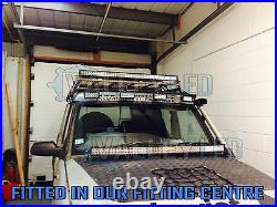 4D 52 300w LED Light Bar Combo IP68 Driving Light Alloy Off Road 4WD Boat