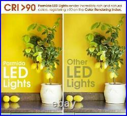 4-12 x PARMIDA 6 Inch 15W LED Retrofit Gimbal Downlight Recessed Ceiling Light