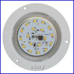 4.5 12V Led 480 Lumen Recessed Interior Ceiling Light RV Marine 12 Pack