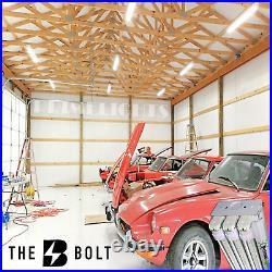 4 PACK LED SHOP LIGHT 5000K Daylight 4' Fixture Utility Ceiling Light USA MADE