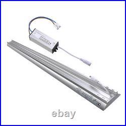4 Pack 40W LED Shop Light Garage Workbench Utility Ceiling Lamp Aluminum 5000K