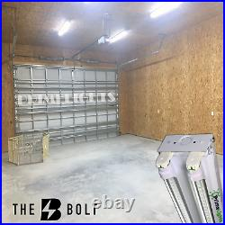 4 Pack LED SHOP LIGHT 5000K Daylight 4FT Utility Ceiling USA MADE CLEAR LED