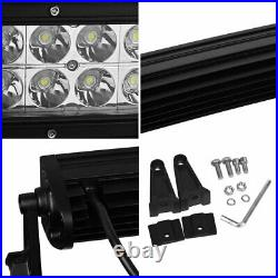 50Inch 288w Led Work Light Bar Curved Spot Offroad Truck Driving Suv Jeep 12/24v