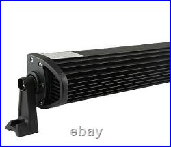 50 288W LED Light Bar+Upper Mounting Brackets fit Jeep Wrangler YJ 87-95+Wiring