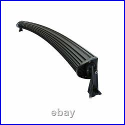 50 288w Curved Cree LED Light Bar Spot IP68 Driving Light Off Road 4WD Boat