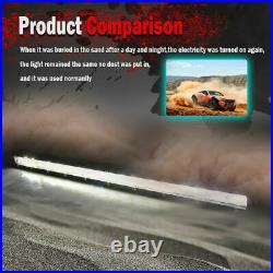 50inch 6D Super Slim Single Row LED Light Bar Single Row Led Bar Offroad SUV 4X4