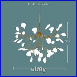 54Lights Sputnik Firefly Chandelier LED Pendant Lighting Ceiling Light Fixture