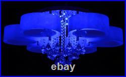5/7 Way LED Crystal Ceiling Lights Lamp Modern Minimalist Room Entrance Aisle