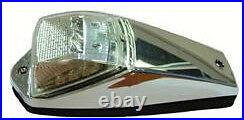 5 x Lucidity LED Cab Roof Lights Clear/White, Bus, Kenworth, Western star, Truck
