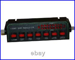 60 LED AMBER LIGHT BAR ROLL BACK TOW Flat Bed Truck EMS PILOT CAR TURN SIGNAL