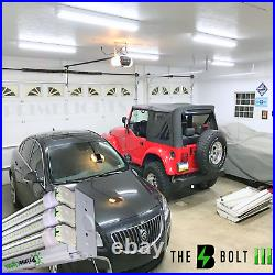 66W LED SHOP LIGHT 5000K Daylight 4FT Fixture Utility Ceiling Light USA MADE