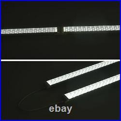 6 PACK 4FT 60W LED Shop Garage Ceiling Light Fixture Daylight Linkable 5000K