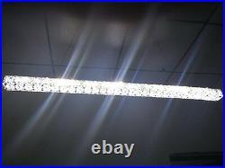 70cm Modern Long crystal LED pendant Lamp ceiling Lighting Light Meeting Room