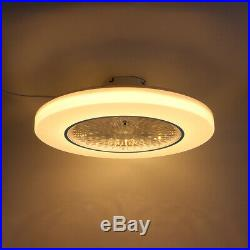 72W LED Ceiling Fan Light Modern Chandelier Living Dining Room Bedroom Remote