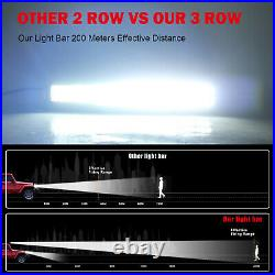 9D 52inch 975W LED Light Bar Flood Spot Combo For LAND ROVER DEFENDER 90 110 130