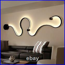 Acrylic Modern LED Lamp Chandelier Light For Living Room Bedroom Home Ceiling