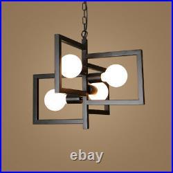 Black Chandelier Lighting Kitchen Pendant Light Bar Lamp Modern Ceiling Lights