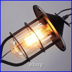 Black Pendant Light Bar Ceiling Lights Kitchen Lamp Home Glass Pendant Lighting