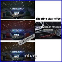 Car Headliner Star Light Roof Ceiling Lights Kit Fiber Optic + Remote Controller