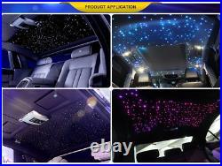 Car Use 16W RGBW LED Fiber Optic Star Ceiling Kit Light 270pcs 0.75mm 2M