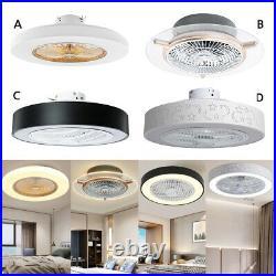 Ceiling Fan Light Remote Control Chandelier Light Modern Living Room 4 Style