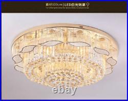 Crystal Chandelier Ceiling Light Pendant Lamp Lighting Luxury Fixtures LED K9