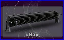 Curved 7D Quad Row 52 inch 876W LED Light Bar Spot Flood Combo Jeep SUV 4X4