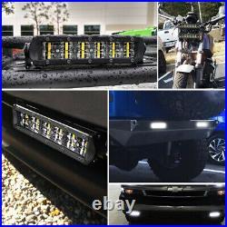 Dual Row 8 14 22 32 Led Light Bar Driving Offroad Lamp SUV 4WD Truck 12V 24V