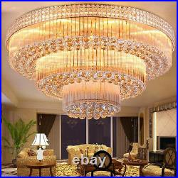 European court style LED crystal ceiling lamps chandeliers Lighting Fixture Hot