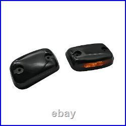 FOR Chevrolet Silverado 1500 2500 3500 3PCS Amber LED Cab Roof Marker Top lights