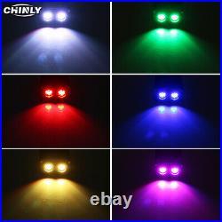 Fiber Optic Light 32W RGBW 2 Light Sources Driver Ceiling Lights 4m LED Fibers